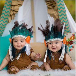 תחפושת אינדיאני לתינוק